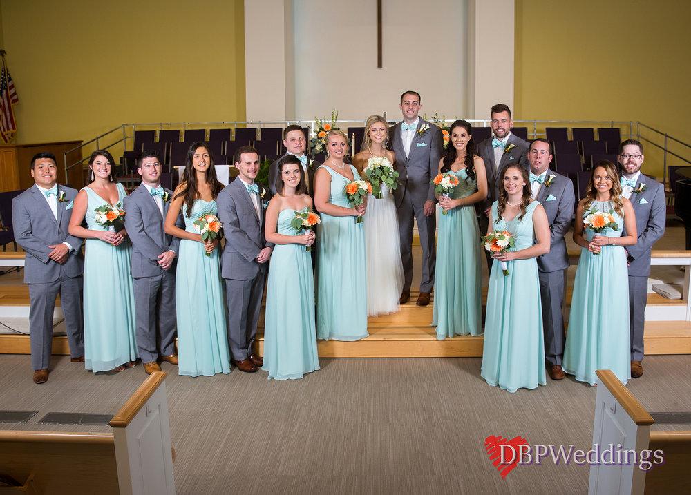 Summer Wedding Jefferson Country Club