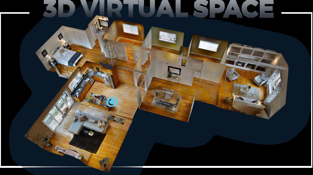 3DVR Environment model
