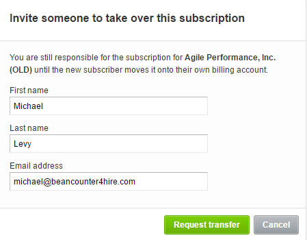 Xero Account Transfer