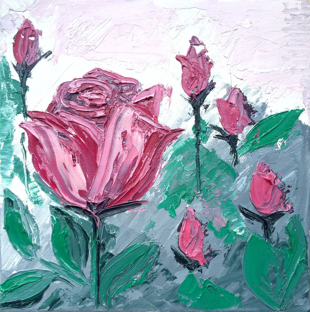 7. Oil pink roses.jpg