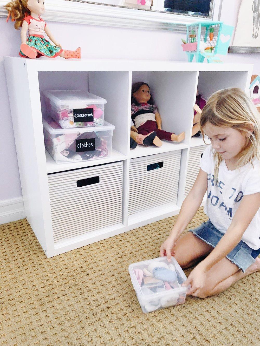 RiOrganize Kids Room Organization