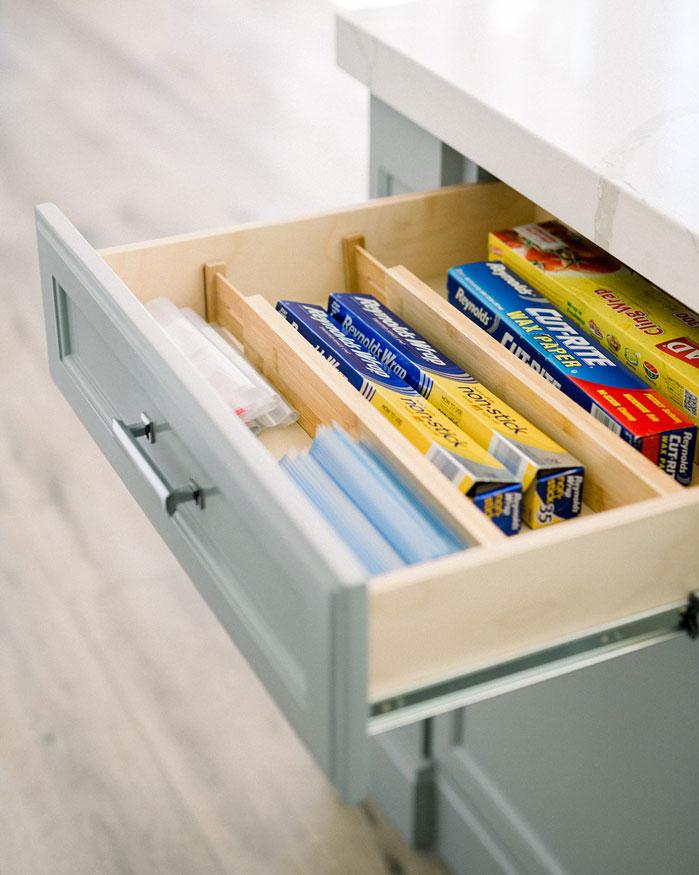 RiOrganize Kitchen Drawer Organization