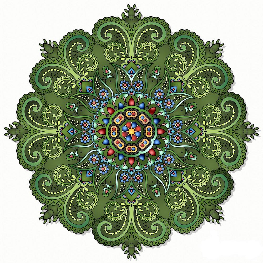 Mandala - viriditas