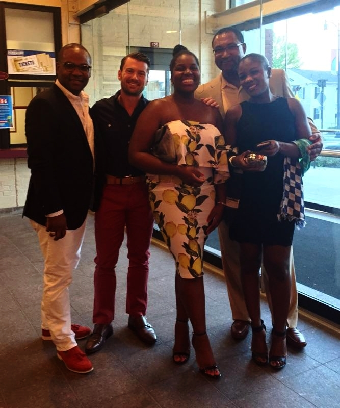 The wildy recieved grand opening of the Berkshire Opera Festival's Madame Butterfly with these FINE folks, including former Metropolitan Opera colleague, #realestatebydayoperabynight