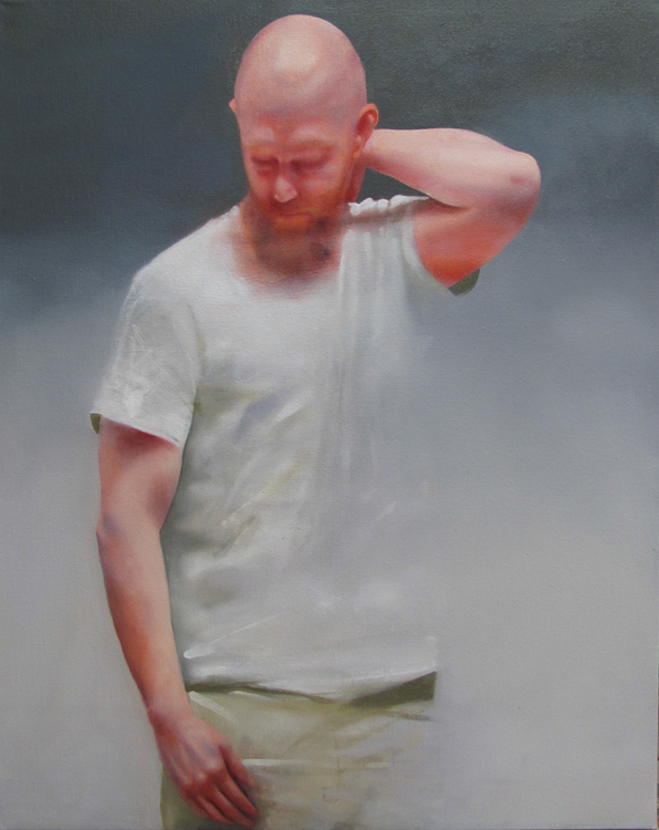 Matthew , 20 x 30 inches, oil on canvas, 2013