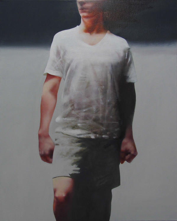 Kouros, 20 x 30 inches, oil, 2014