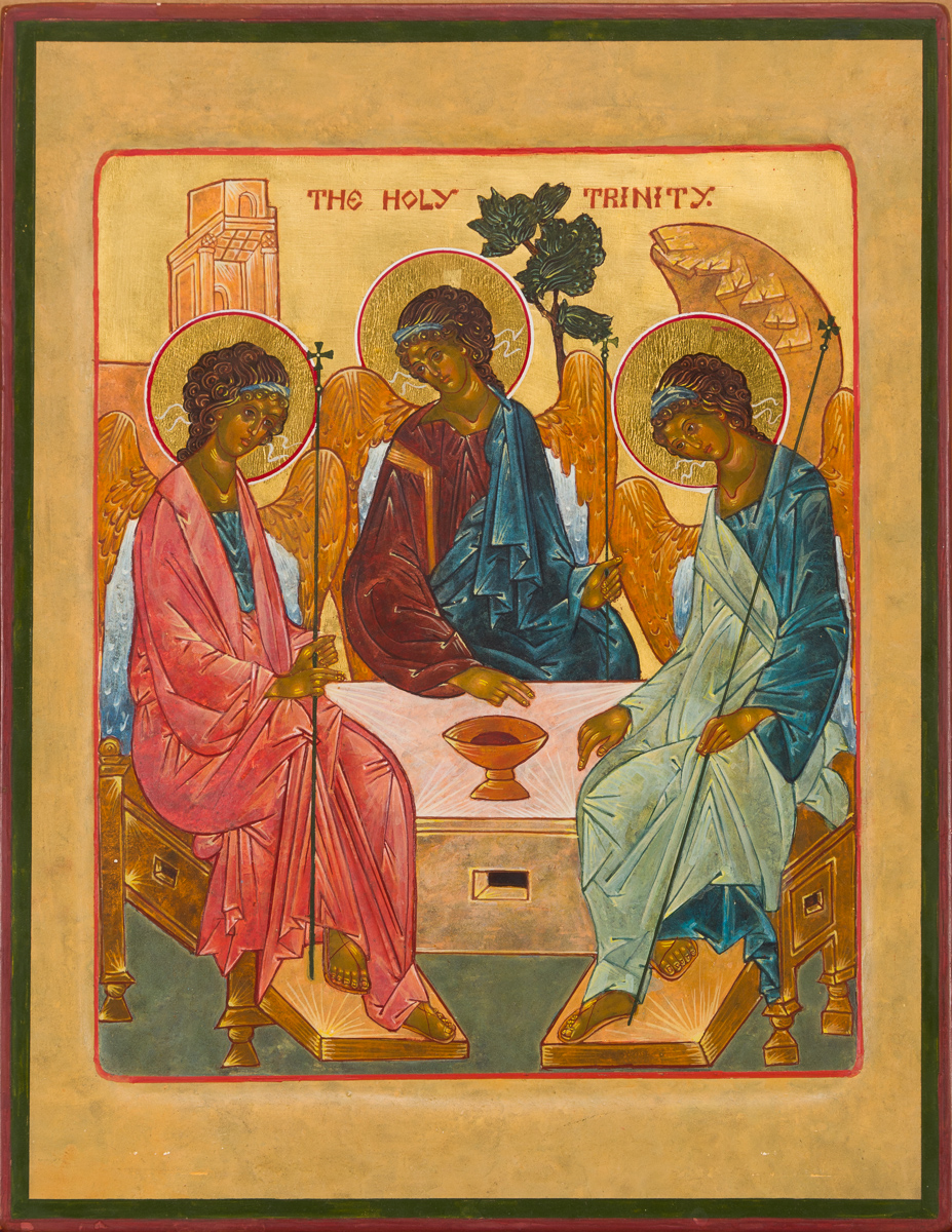 Icon of the Holy Trinity. Private collection