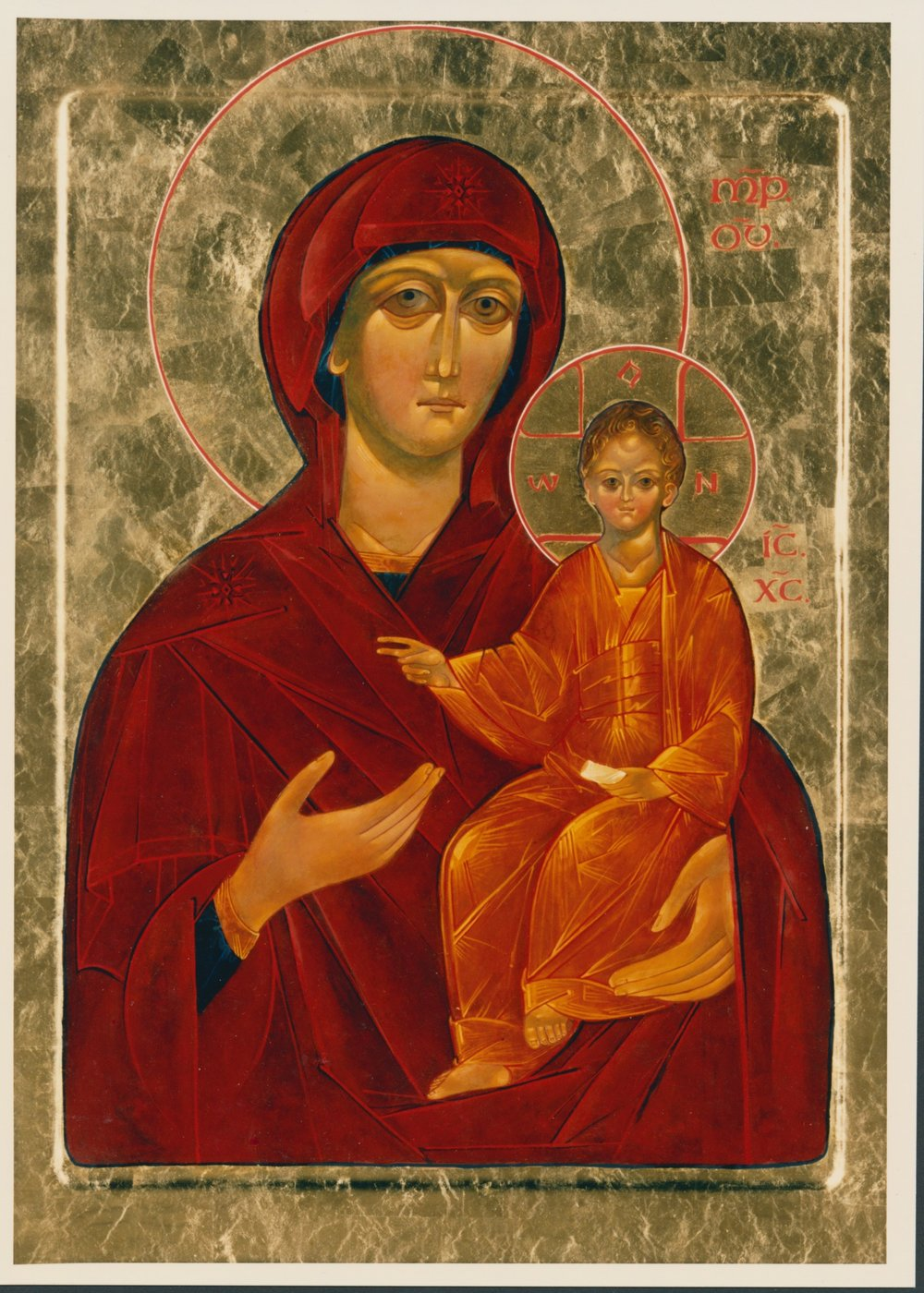 Icon of Hodogitria. Private collection