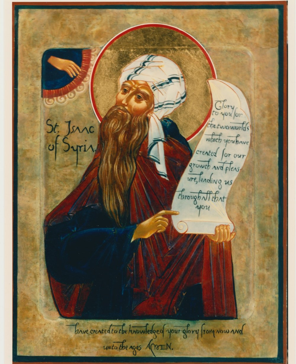 Icon of Saint Isaac of Syria. Private collection.