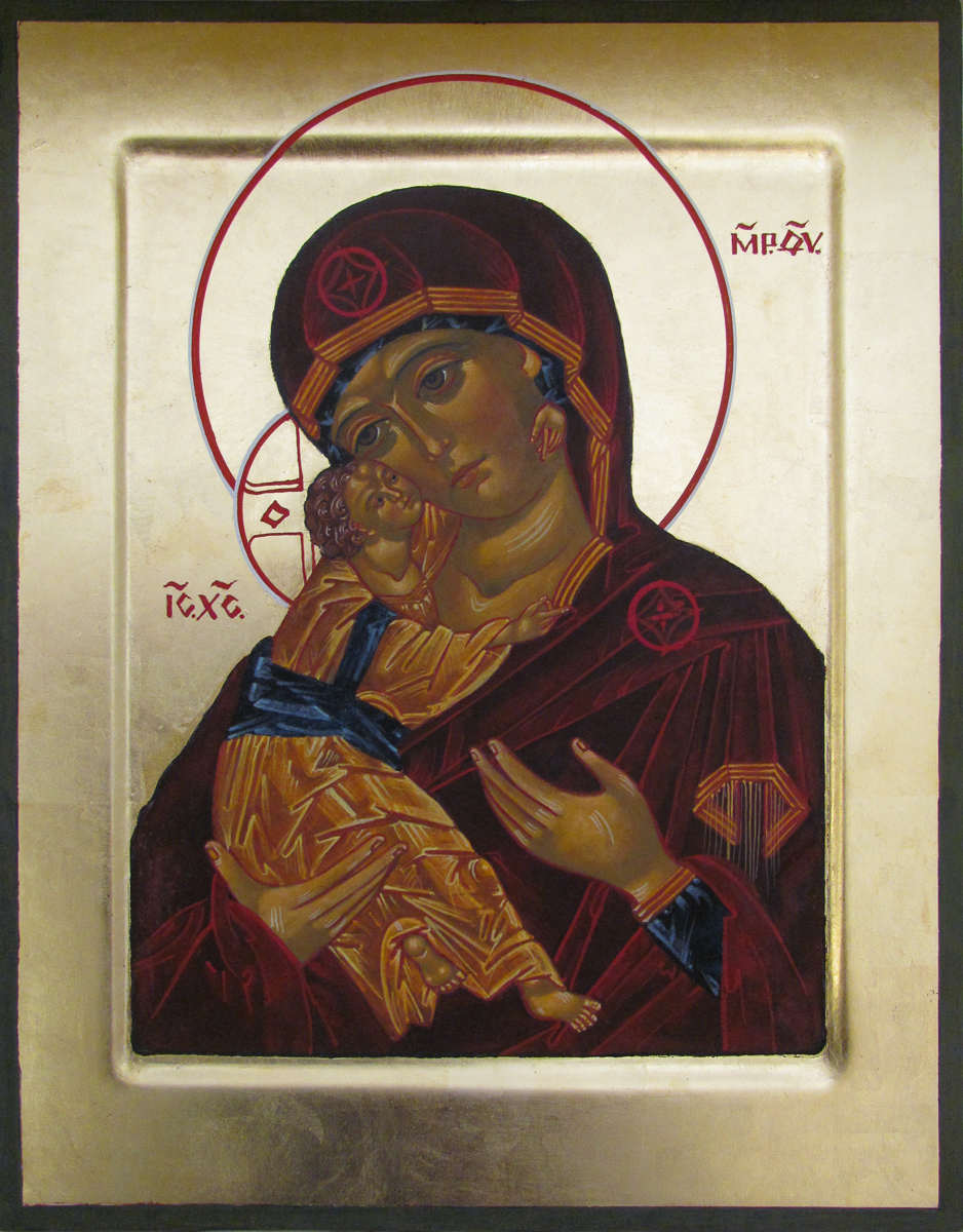Icon of Mother of God. Private collection