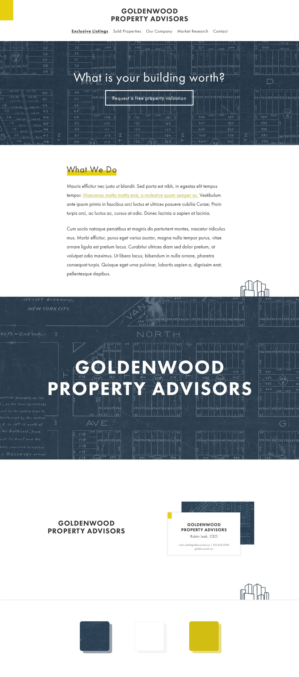 Goldenwood Branding