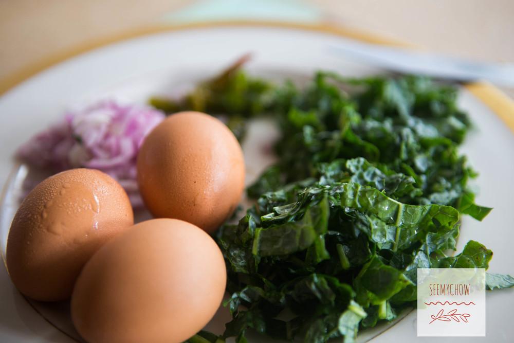 kale&egg