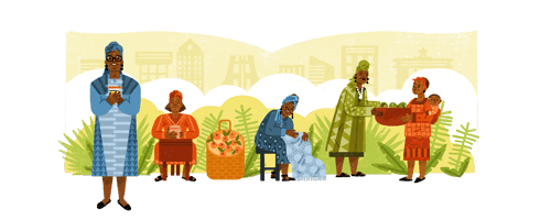 Google Doodle of Esther Ocloo