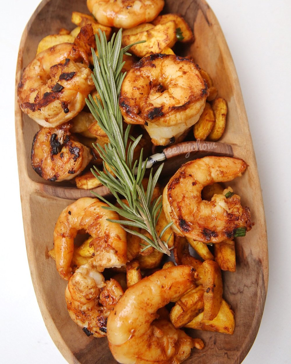 Ginger Prawns With Soy Sauce