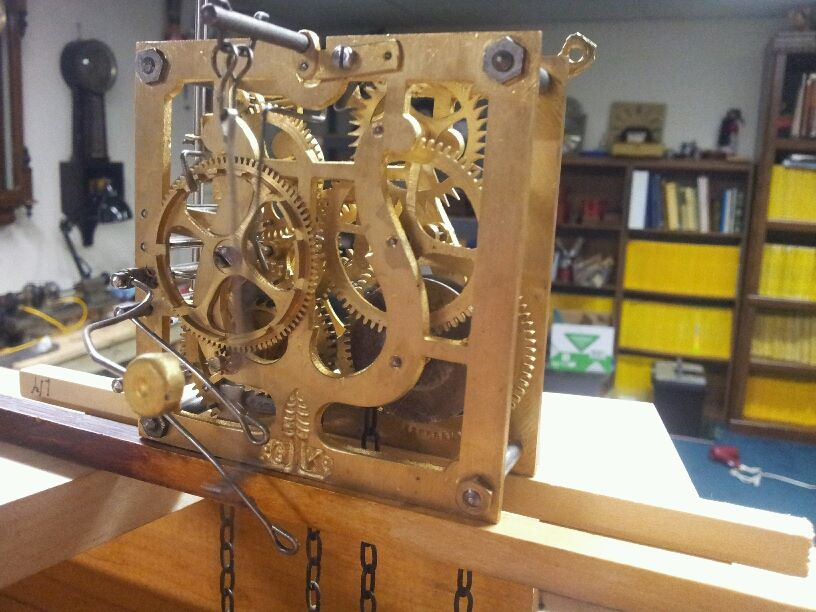 Antique Cuckoo Clock Movement-Overhauled