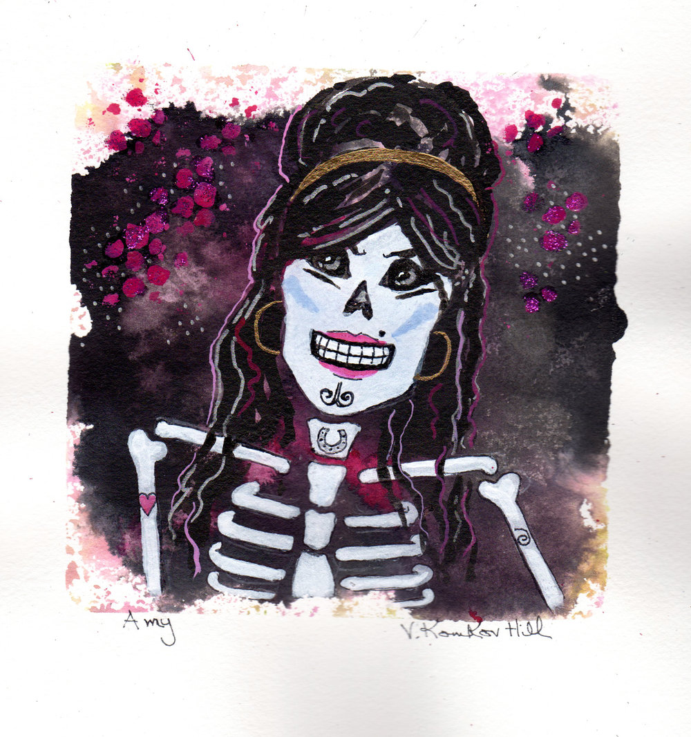 Amy-from Day of the Dead Rock Stars series. 2018