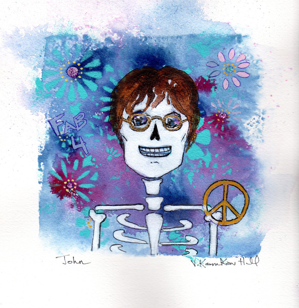 John-from Day of the Dead Rock Star series. 2018