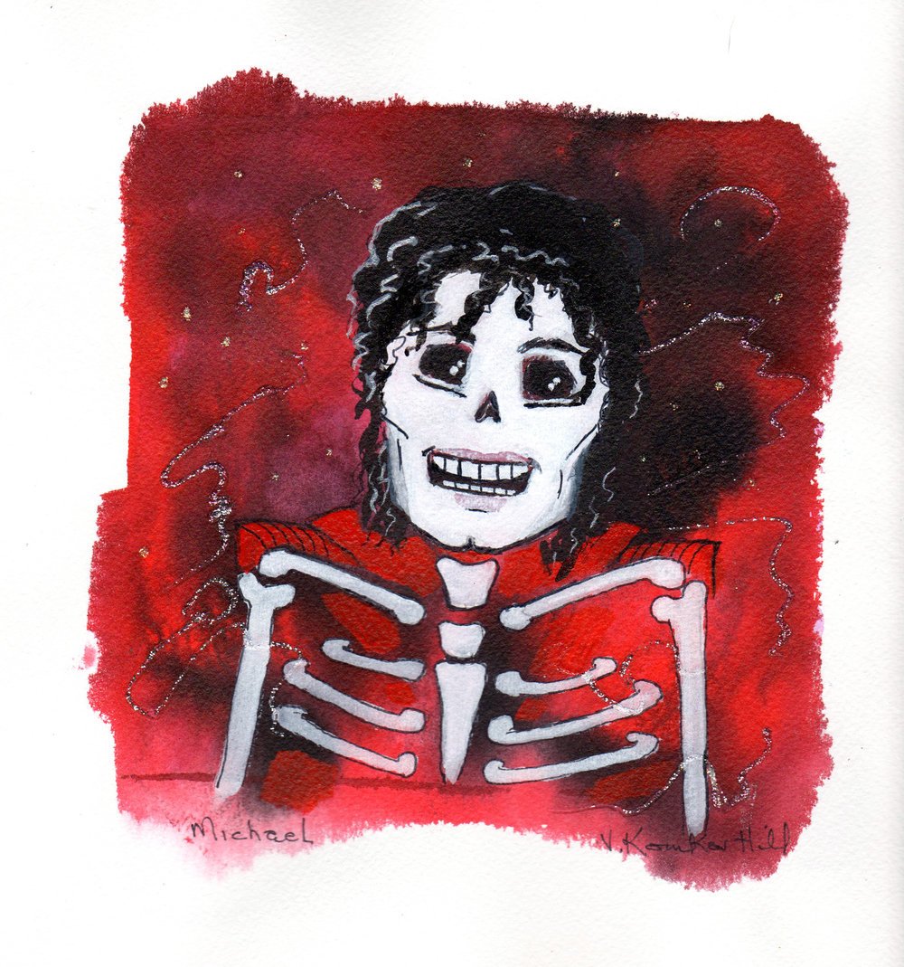 Michael-from Day of the Dead Rock Star series. 2018