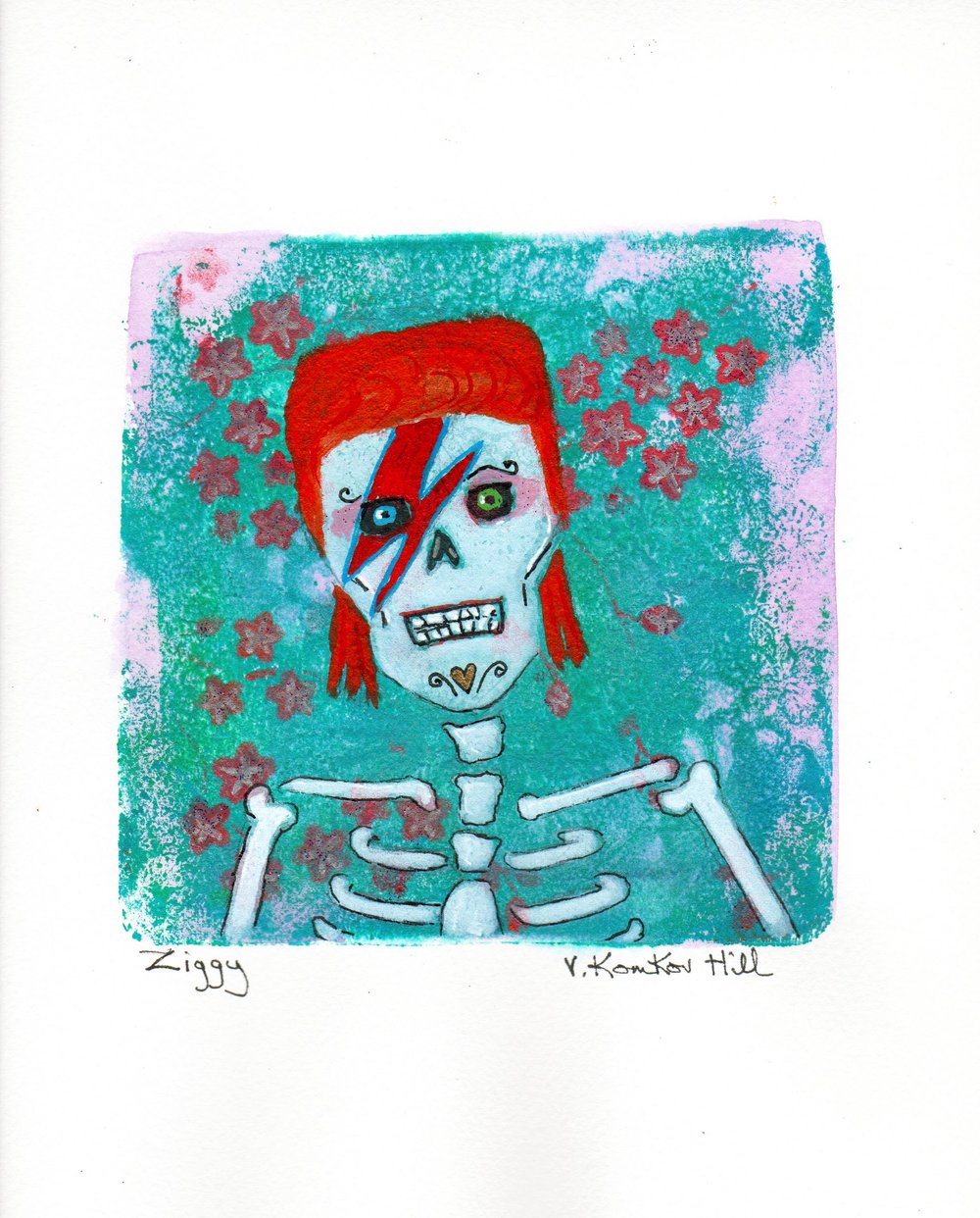 Ziggy-from Day of the Dead Rock Star series. 2018