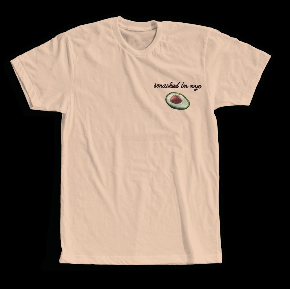 Smashed in NYC - Cream T-Shirt — Avocaderia 51523617466