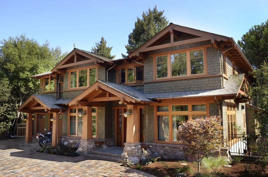 Craftsman Style Los Altos Home