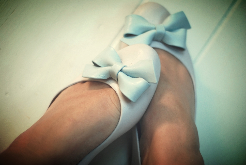 Just so pretty in Little Stork (Lavender) and Little Whale (Pale Blue)