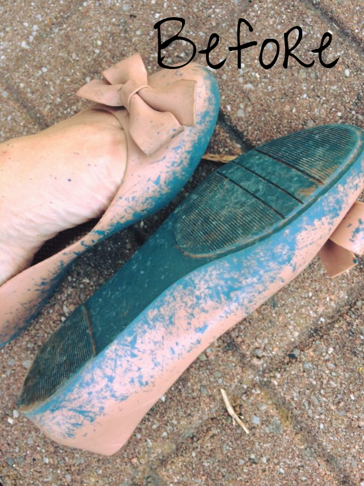 Can you believe these are the same shoes?