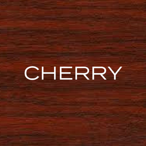 Reddish in colour with a slightly darker grain running through it. The Sapwood can be whiter in appearance.