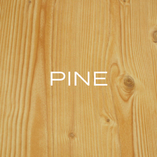 Pine comes in several varieties, all great for furniture! Generally, Pine will take stain very well (as long as you seal the wood first), although Ponderosa often oozes sap.
