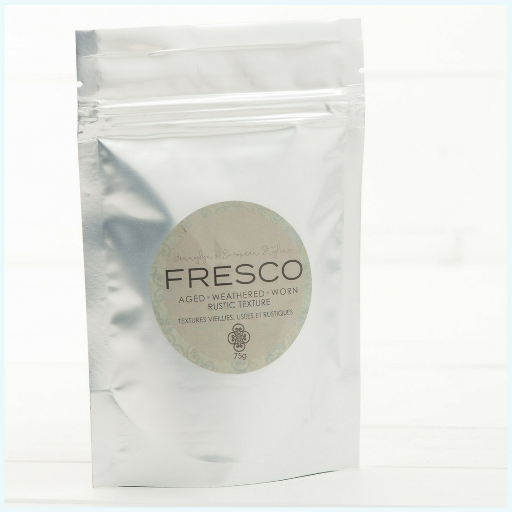 Add Fresco from Fusion Mineral Paint to your Paint for added texture.