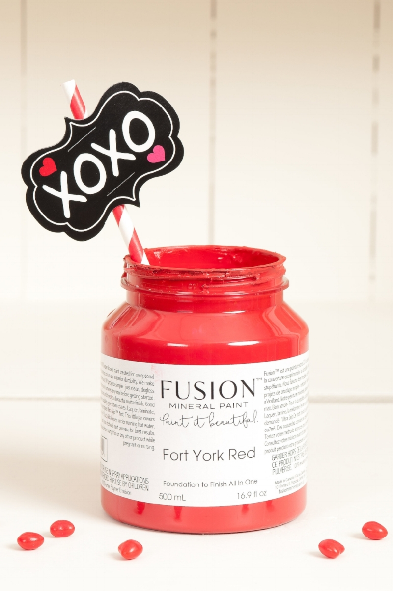 Fort York Red from Fusion Mineral Paint