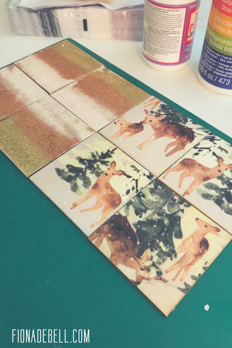 Seal your glitter and decoupage napkins!  |  fionadebell.com