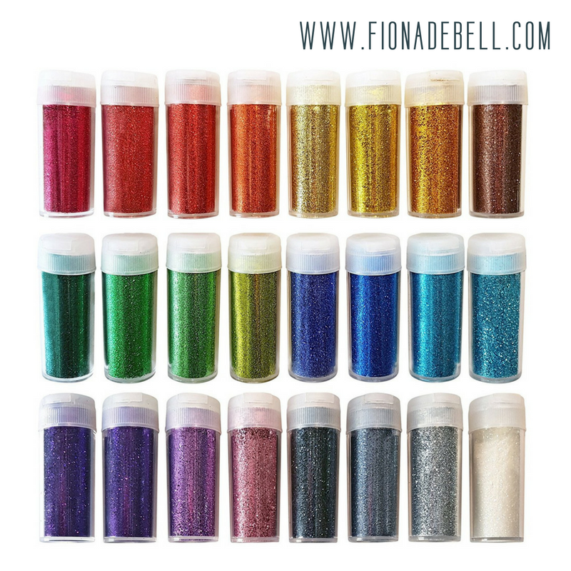 Many different colours of glitter. Image from Amazon.  |  fionadebell.com