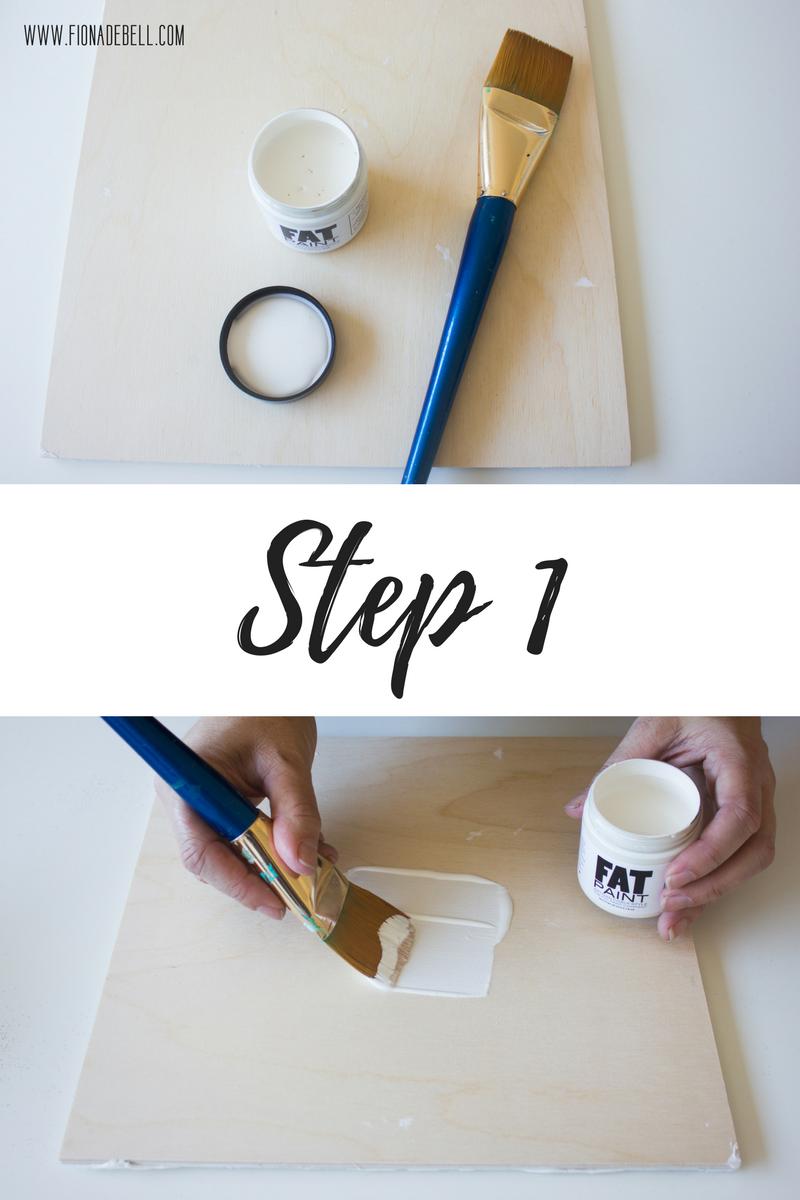 Step 1. | fionadebell.com