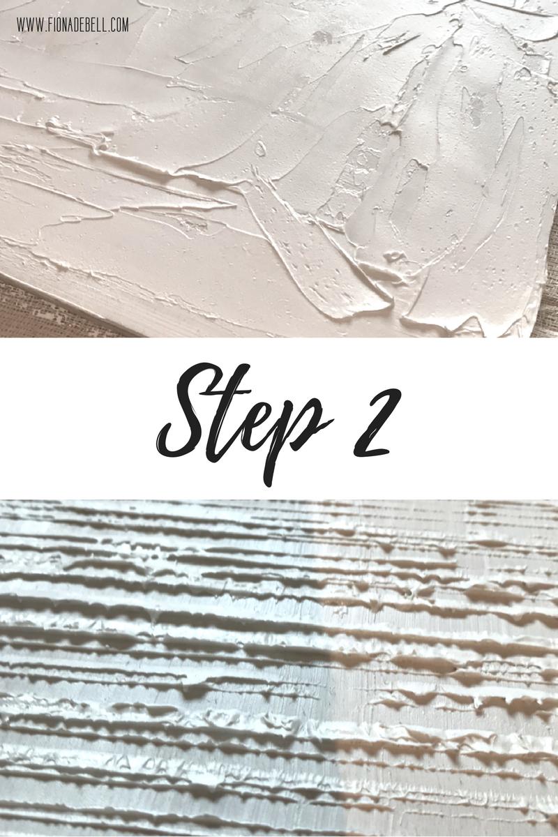 Step 2. | fionadebell.com