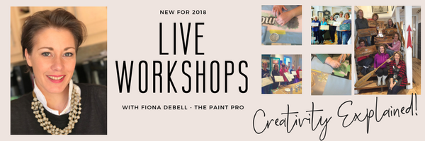 Join Fiona Debell for LIVE WORKSHOPS in 2018!  www.fionadebell.com