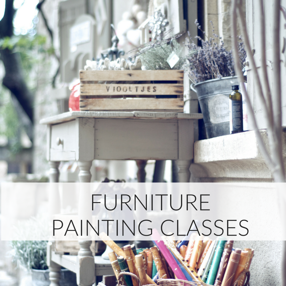 Learn how to repaint furniture in Toronto with Fiona Debell. | fionadebell.com