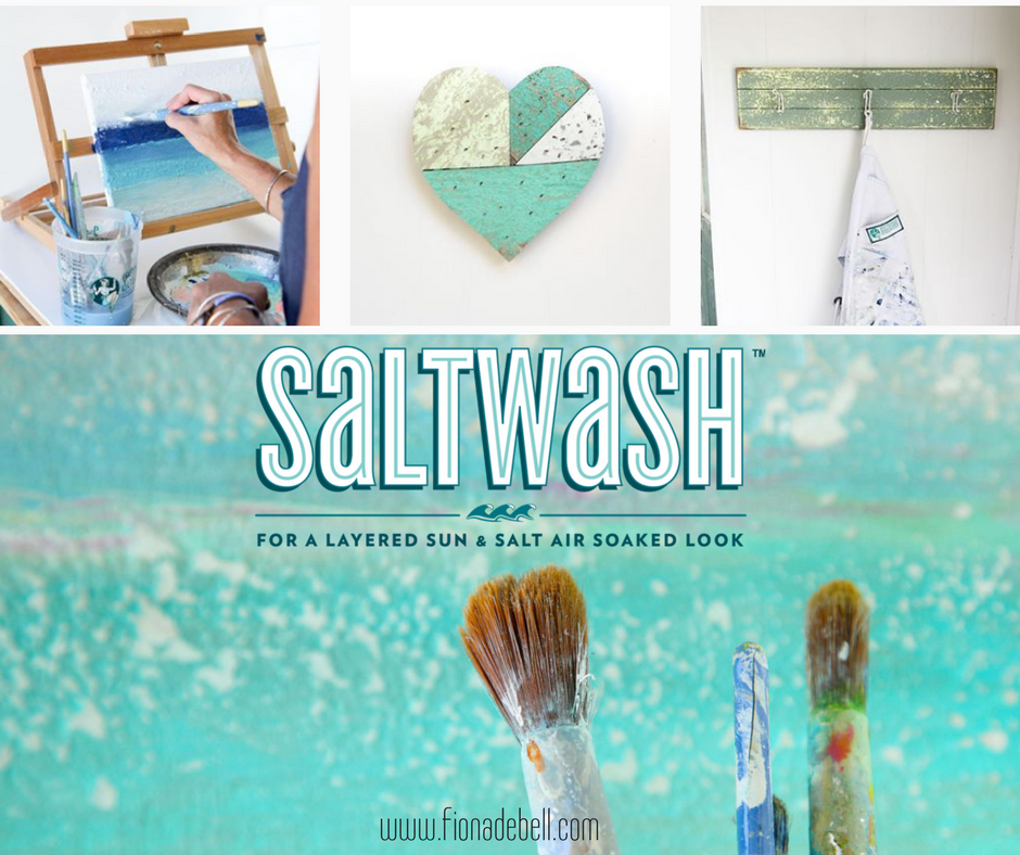 Saltwash is an additive mixed into paint to create texture and age.  |  fionadebell.com