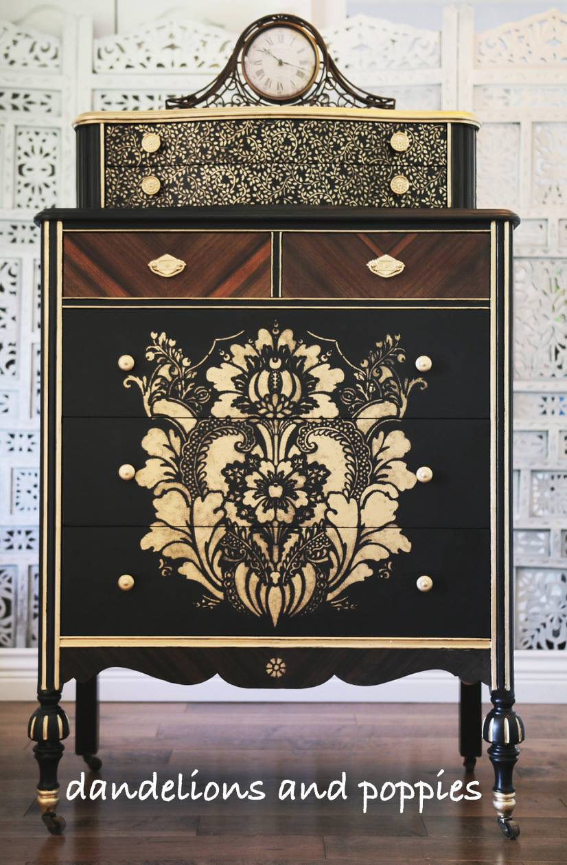 Gentleman's dresser from Julie of Dandelions & Poppies
