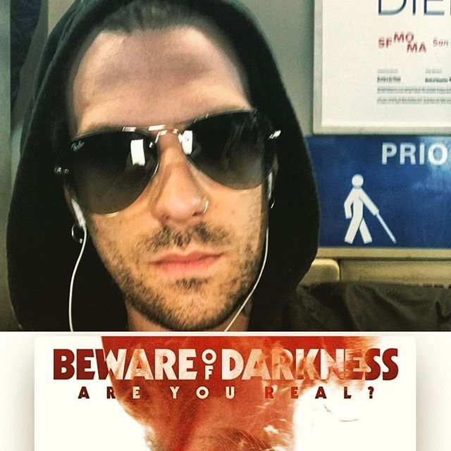 See you later San Francisco! Hood up, basting a little @bewareofdarkness on #bart to #sfo LOVE this album.  #muthafucka #bewareofdarkness #traveltunes