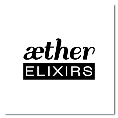 Aether Elixirs soap company logo