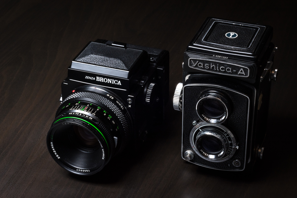 Bronica ETRS & Yashica A