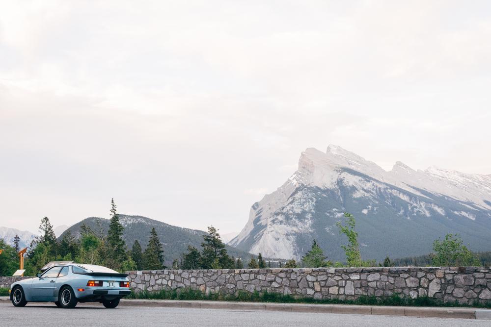 Through the Rockies toward Calgary