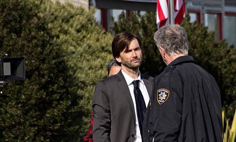 David Tennant in the US crime series Gracepoint.