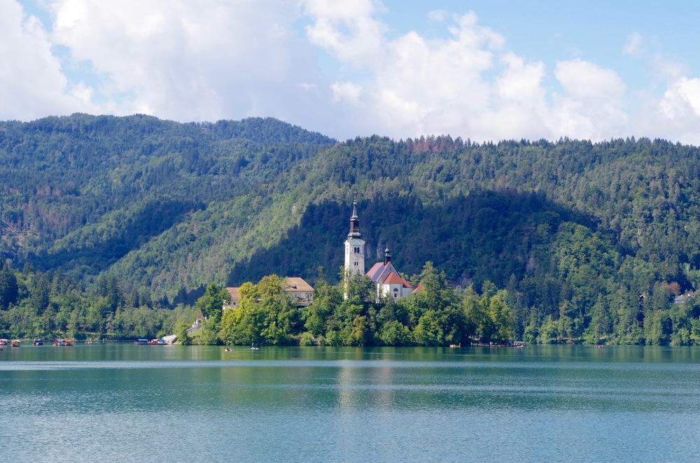 "Slovenia's ""Alpine Jewel"", Lake Bled"
