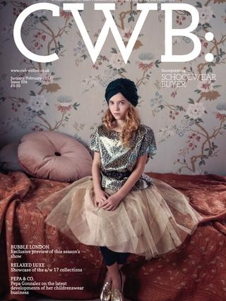 CWB  JANUARY/FEBRUARY 2017   BULB LONDON , the London-based kids lifestyle brand, creatively incorporates monochrome illustrations of light bulbs into contemporary kidswear and design-led kids room decor. Inspiration comes from a modern, minimal yet fanciful London lifestyle.