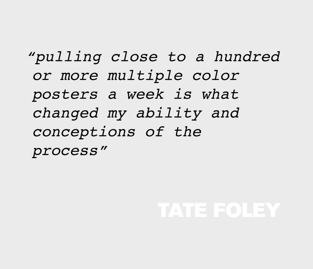 Read Tate Foley's interview from   Power Washer No. 1