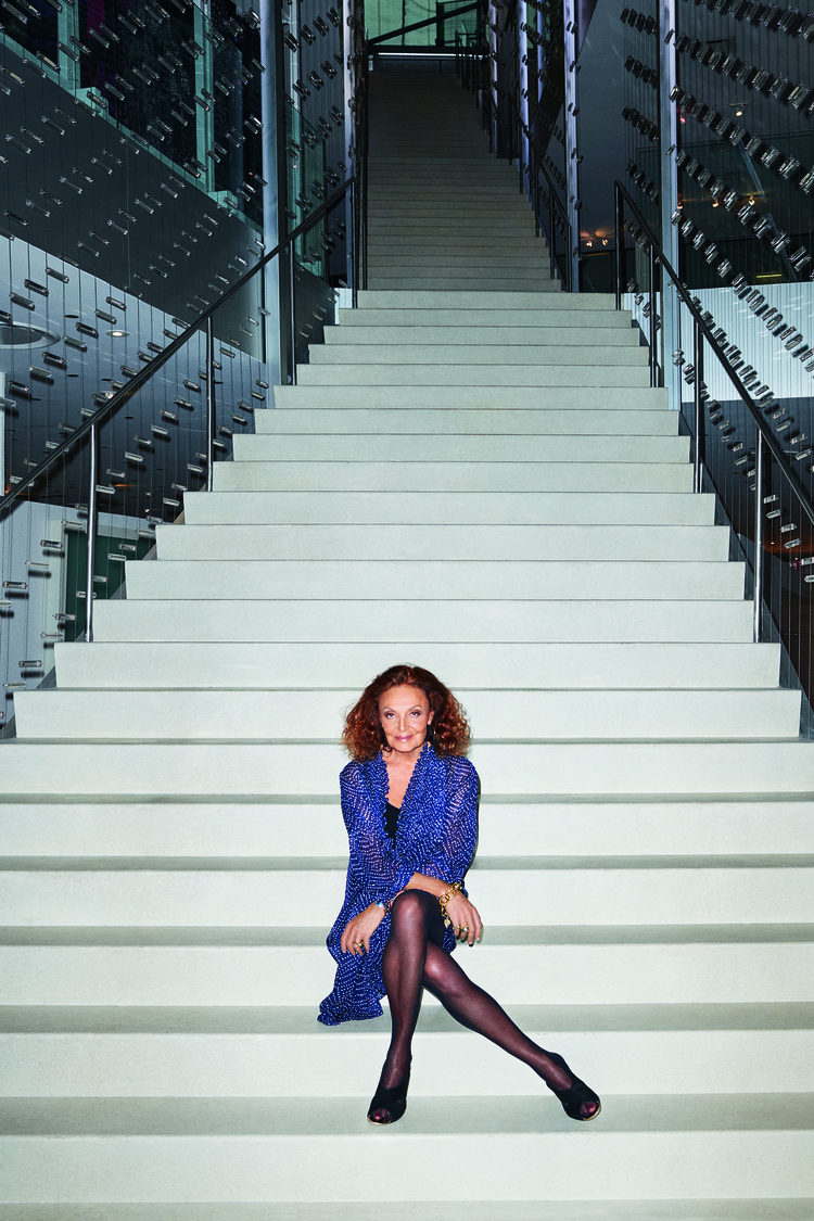 Photo courtesy of Diane von Fürstenberg, Taken by Terry Richardson