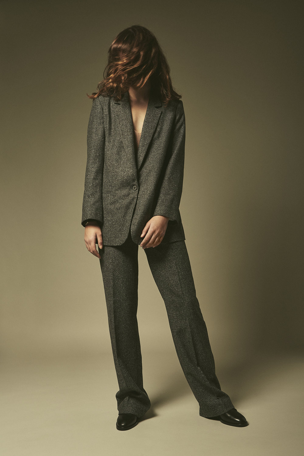 SUIT ZARA, TOP H&M, SHOES &other stories