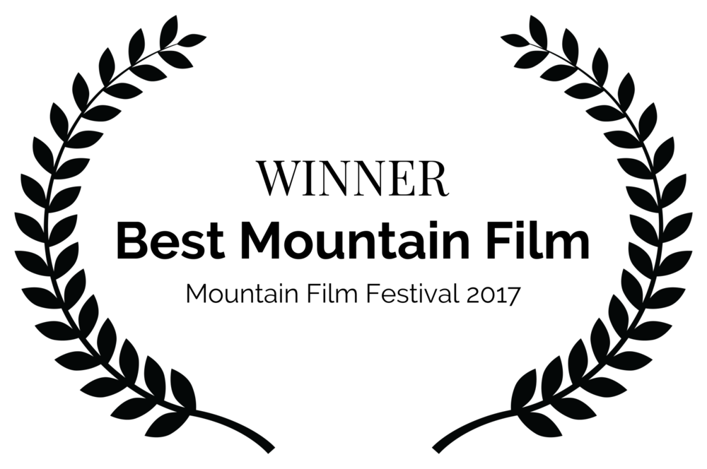 WINNER - Best Mountain Film - Mountain Film Festival 2017.png
